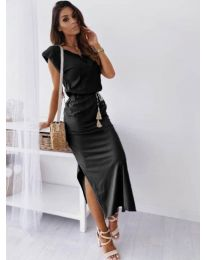 Šaty - kód 6622 - černá