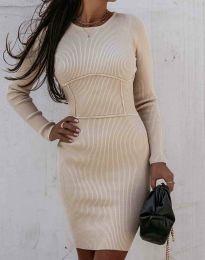 Šaty - kód 0891 - bežová