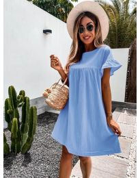 Šaty - kód 744 - modrý