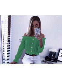 Košile - kód 7126 - zelená