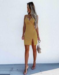 Šaty - kód 8979 - hořčičná