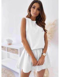 Šaty - kód 477 - bílá