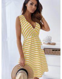 Šaty - kód 6629 - žlutá