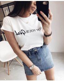 Tričko - kód 978 - bíla