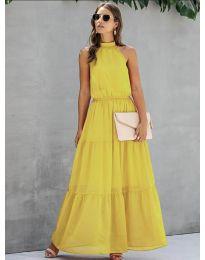 Šaty - kód 8855 - žlutá