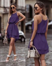 Šaty - kód 2104 - tmavě fialová