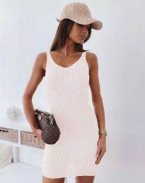 Šaty - kód 10088 - bíla