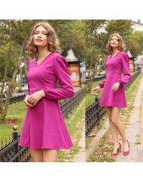 Šaty - kód 1478 - 2 - fialová