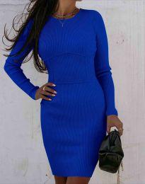 Šaty - kód 0891 - modrá