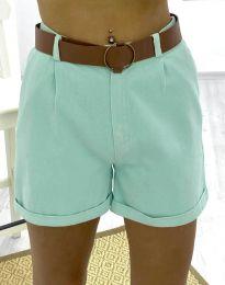 Krátké kalhoty - kód 2236 - 2 - mentolová