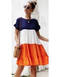 Šaty - kód 741 - oranžová