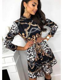 Šaty - kód 7272 - 2 - vícebarevné