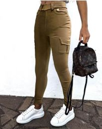 Kalhoty - kód 2528 - cappuccino
