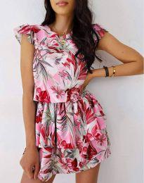 Šaty - kód 7398 - vícebarevné