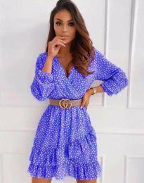 Šaty - kód 2794 - modrá