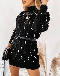 Šaty - kód 3904 - černá