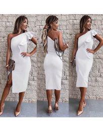 Šaty - kód 745 - bílá