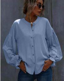 Košile - kód 1648 - 3 - světle modrá