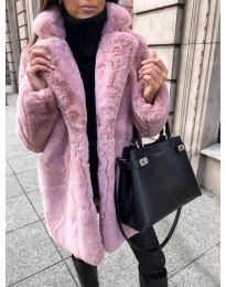 Kabát - kód 187 - růžová