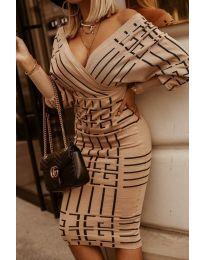 Šaty - kód 4441 -3 - vícebarevné
