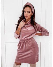 Šaty - kód 1714 - růžová