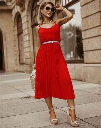 Šaty - kód 1249 - červená