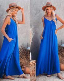 Šaty - kód 4673 - modrý