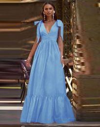 Šaty - kód 2743 - světle modrá
