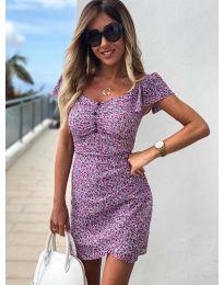 Šaty - kód 526 - fialová