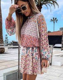 Šaty - kód 6709 - 1 - květinové