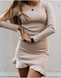Šaty - kód 3630 - bordeaux