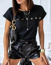 Tričko - kód 4318 - černá