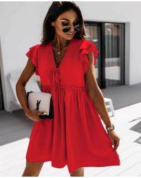 Šaty - kód 2093 - červená