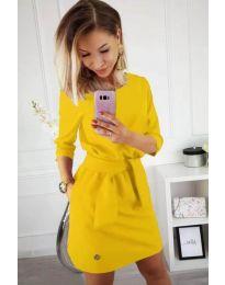 Šaty - kód 594 - žlutá
