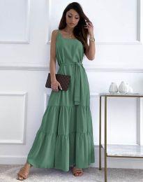 Šaty - kód 2578 - mentolová