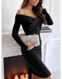 Šaty - kód 6130 - 1 - černá