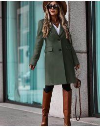 Kabát - kód 4554 - zelená