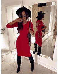 Šaty - kód 5169 - 1 - červená