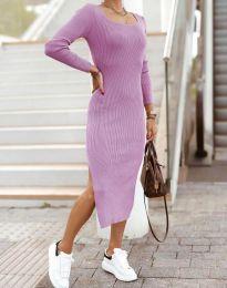 Šaty - kód 2326 - světle fialová