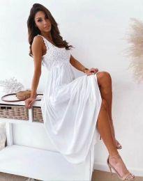 Šaty - kód 4807 - bíla