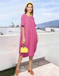 Šaty - kód 5554 - růžova