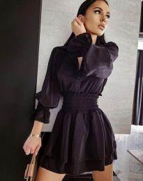 Šaty - kód 6609 - 1 - černá