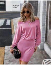 Šaty - kód 4447 - růžová