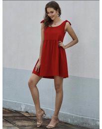 Šaty - kód 2255 - červená