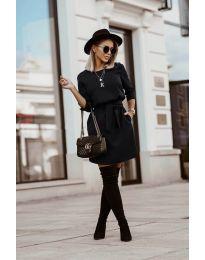 Šaty - kód 6100 - černá