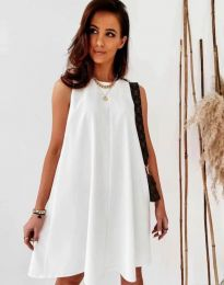 Šaty - kód 9862 - bíla