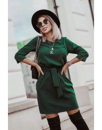 Šaty - kód 6100 - zelená