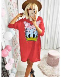 Šaty - kód 0706 - červená