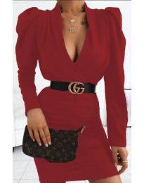 Šaty - kód 953 - bordeaux