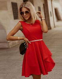 Šaty - kód 8917 - červená